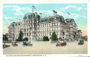 Washington D.C., The State and War Departments, automobiles
