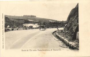 Antananarivo, Tananarive; Road to Manjankandriana