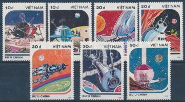 Space research set Űrkutatás sor