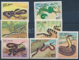 Venomous snakes set Mérges kígyók sor