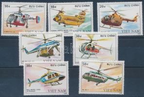 Helicopters set Helikopterek sor