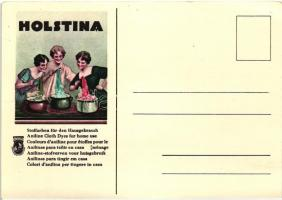 Holstina, Aniline Cloth Dyes for home use / advertisement