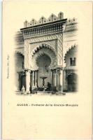 Algiers, Alger; Fontaine de la Grande Mosque
