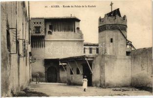 Algiers, Alger; Kasbah Palace entry