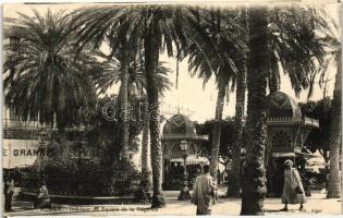 Algiers, Alger; Square de la Regence