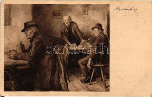 Streitsüchtig, Moderne Kunst Nr. 422. s: Hans Best Civakodók, Moderne Kunst Nr. 422. s: Hans Best