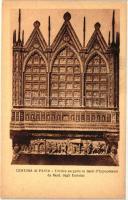Certosa di Pavia, Trittico eseguito in denti d'Ippopotamo da Berd. degli Embriac