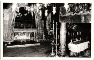 Bethlehem, Grotto of Nativity, interior, photo