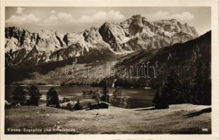 Eibsee, Zugspitze, Riffelwande