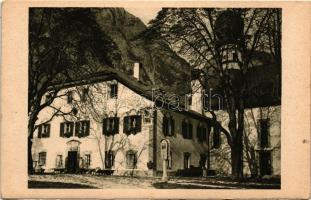 St. Bartholomä am Königsee, Forsthaus und Kirche / St Bartholomew's Church