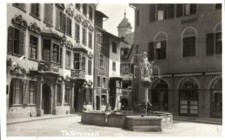 Schaffhausen, Tellbrunnen / fountain