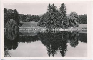 Radvány, kastély park