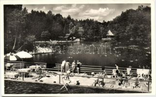 Sovata, lake, Szováta-gyógyfürdő, Medve-tó