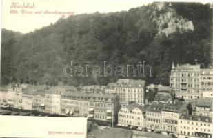Karlovy Vary, Karlsbad, Alte Wiese und Hirschensprung