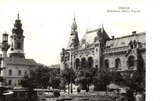 1961 Oradea, Biblioteca Sfatului Popular / People's Council Library, 1961 Nagyvárad, Néptanács könyvtár