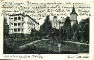 Balatonfüred-gyógyfürdő, Tiszti üdülő