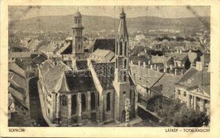 Sopron, látkép