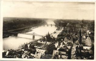 Frankfurt a. M., Blick von Dom nach Westen