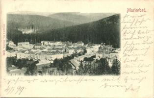 1899 Marianske Lazne, Marienbad;