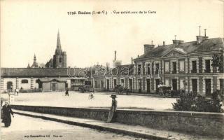Redon; La gare due extérieure / railway station