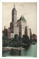 New York City, Fifth Avenue at 59th Street from Central Park