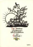 Verkauf / Greeting card, Pilschke Kunstkarte s: Georg Plischke, Üdvözlőlap, Pilschke Kunstkarte s: Georg Plischke