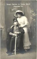 Hevesi Mariska és Sziklai József; Sárga Liliom