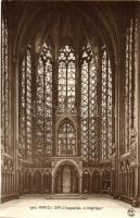 Paris, Ste Chapelle, Interieur / chapel interior
