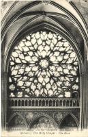 Paris, Ste Chapelle, La Rosace / chapel interior