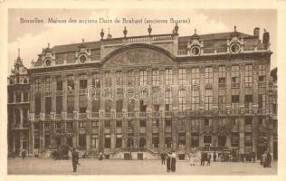 Brussels, Bruxelles; Maison des anciens, Ducs de Brabant (ancienne Bourse) / palace