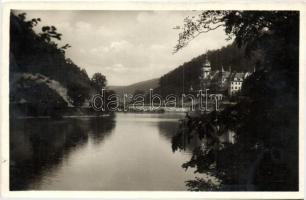 Lillafüred, Palotaszálló, tó részlet
