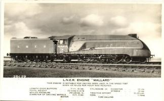 "L.N.E.R. Engine ""Mallard"" train"