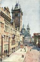 Praha, Prag; Staromestska radnice / old town house s: Fra Jelinek