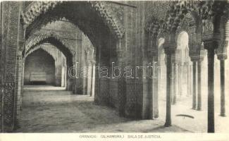 Granada, Alhambra, Sala de Justica