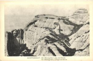 Montserrat, El Montgrós i plec de llibres