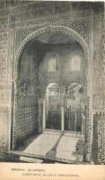 Granada, Alhambra; Ajimez en el Salon de Embajadores / interior