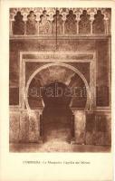 Cordoba, La Mezquita, Capilla del Mirab