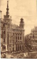 Madrid, Plaza de Canalejas, Calle del Principe / square, street