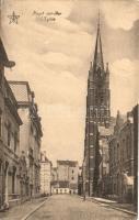 Heist-sur-Mer, Heyst; Eglise / church, street