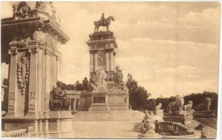 Madrid, Parque del Retiro, Monumento a Alfonso XII
