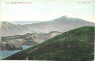 Hakone, Mount Komagatake