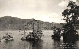 Lake Towada, deep of the lake
