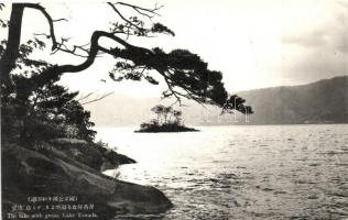 Lake Towada, deep of the lake