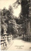 Nara, Avenue of Lanterns
