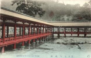Itsukishina Shrine, corridor
