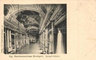 Stuttgart, Kgl. Residenzschloss, Spiegel-Gallerie / palace, interior
