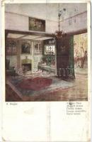 Home, Salon Apart F.H. & S.W. IX. 5042. s: H. Biegler Meghitt otthon, Salon Apart F.H. & S.W. IX. 5042. s: H. Biegler