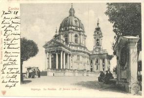 Torino, Turin; Superga La Basilica