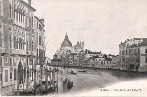 Venice, Venezia, Venise; Eglise della saluta