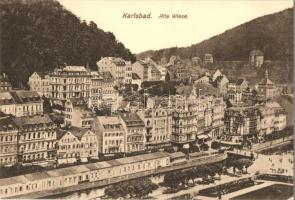 Karlovy Vary, Karlsbad; Alte Wiese, Verlag Ottmar Zieher